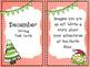 December Writing Task Cards