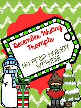 December Writing and Language Activities