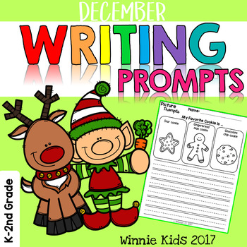 December Writing and Picture Prompts