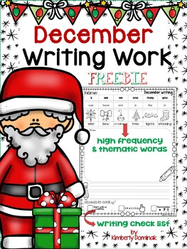 December Writing templates for Beginners!
