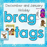 December and January Holiday Brag Tags