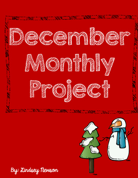 December at home Monthly Project