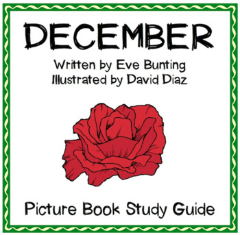 December by Eve Bunting - Picture Book Study Guide