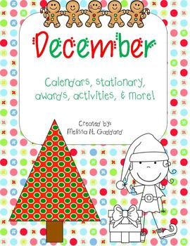 Christmas for Teachers! December activities and teacher needs!