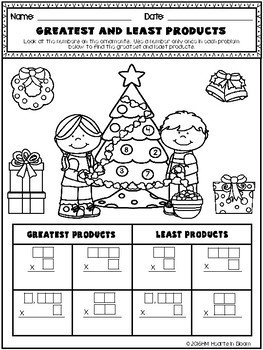 December in Fourth Grade (NO PREP Math and ELA Packet)