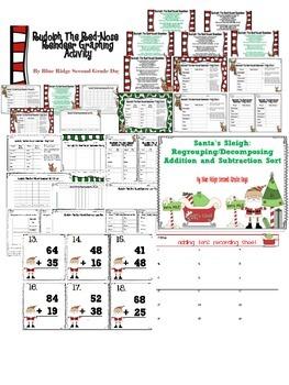 December or Christmas Math and ELA Mega Bundle