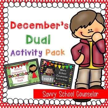 December's Dual School Counselor Activity Pack
