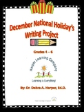December's National Holiday Writing Project