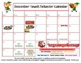December snack calendar- editable