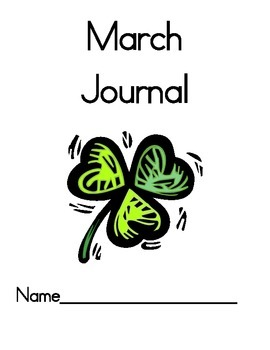 December to March Morning Writing Journals Monthly