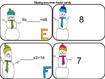 December  Math Workshop Activities and Stations