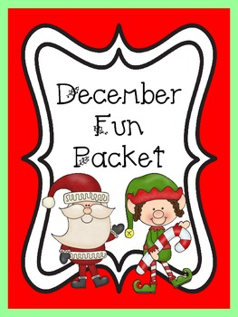 December/Christmas Fun Packet