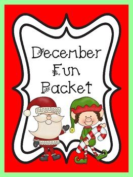 December/Christmas Fun Packet