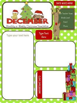 December/winter Newsletter