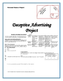 Deceptive Advertising Project