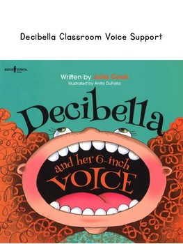 Decibella Voice Levels Classroom Display