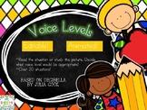 Decibella (Voice Levels)  PowerPoint Game EDITABLE
