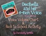 Decibella Voice Volumes Chart and Back to School Activity