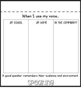Decibella and Her 6 Inch Voice Flip Book & Voice Level Chart