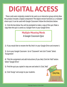 Deciding on a Definition- Mini-Passages with Dictionary Definitions