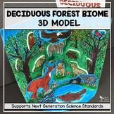 Deciduous Forest Biome Model  - 3D