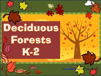 Deciduous Forests Biomes: K-2