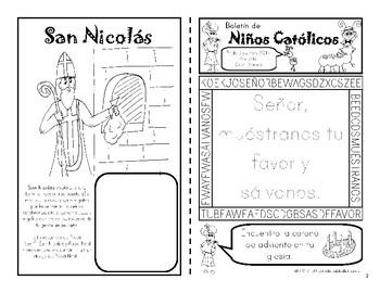 Deciembre Boletín para Niños Católico