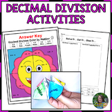 Dividing Decimals Activities