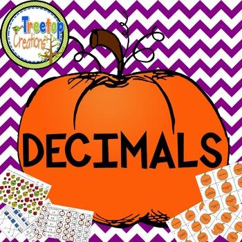 Decimal Activities Fall Theme