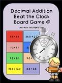 Decimal Addition Beat the Clock Game