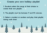 Decimal Addition Holiday Playlist