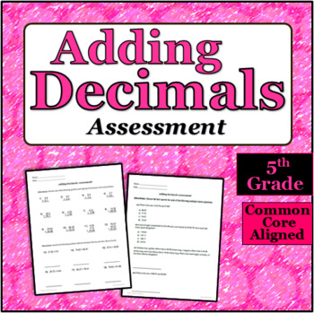 Decimal Addition Quiz