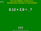 Decimal Addition, Subtraction, Multiplication, Division to