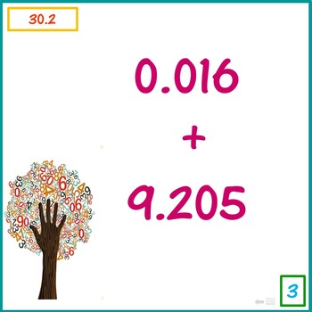 Decimal Addition and Subtraction 9 - 11 Maths Trail 2