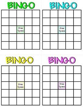 how to play math bingo