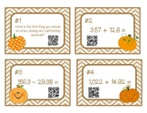 Decimal Addition and Subtraction QR Code