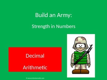 Decimal Arithmetic Activity: Build and Amy