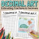 Decimal Art - Estimating Decimals