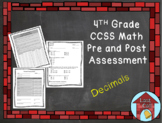 Decimal Assessment CCSS Aligned