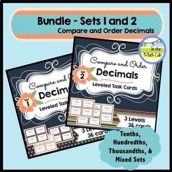 Decimals BUNDLE - Sets 1 & 2