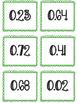 Decimal Battle - Comparing Decimals Activity