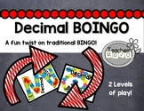 Decimal Bingo-Boingo  (A Common Core Decimal Game)