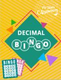 Decimal Bingo!!! (Comparing, Adding, Subtracting, Multiplying Decimals Game)