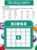 Decimal Bingo!!! (Comparing, Adding, Subtracting, Multiply