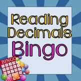 Reading Decimals Bingo