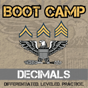 Decimal Boot Camp -- Differentiated Practice Assignments