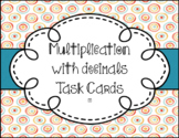 Decimal Bundle--Addition, Subtraction, Multiplication and Division Task Cards