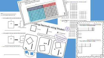 NEW 5th GRADE DECIMAL VALUE PACK:Place Value,Multiplying & Dividing