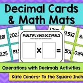 Decimal Cards and Mats Centers