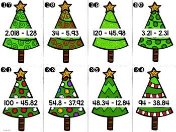 Decimal Christmas Trees
